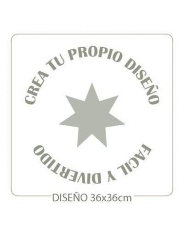 Stencil Personalizado 014 40x40m