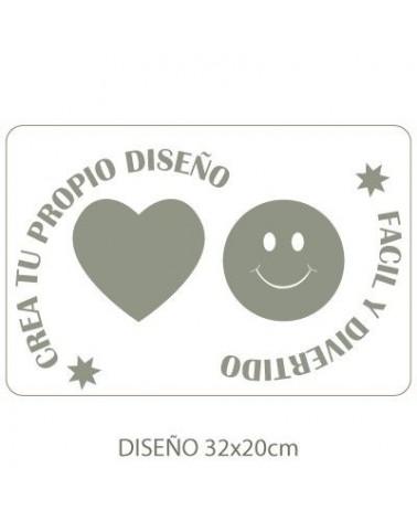 Stencil Personalizado 019 36x24cm