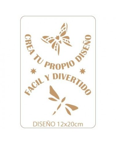 Stencil Personalizado 024 16x24cm