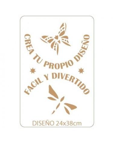 Stencil Personalizado 027 28x42cm