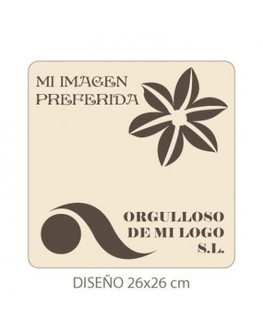 Stencil de Tu Imagen 005 30x30cm