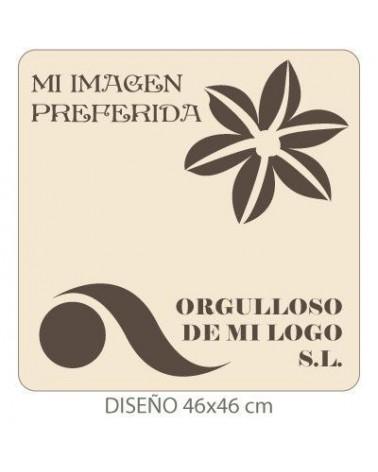 Stencil mit deinem Bild 007 50x50cm