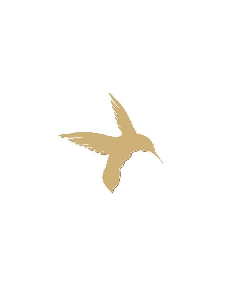 Wood Shape 058 Hummingbird