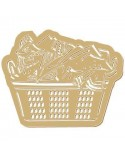 <h1>Wood Shape 064 Clothes Basket</h1><p><ul><li>(S) 7 x 5,6 cm</li><li>(M) 10,5 x 8,4 cm</li><li>(L) 14 x 11,2 cm</li><li>(XL) 17,5 x 14 cm</li><li>(XXL) 21 x 16,8 cm</li></ul></p>