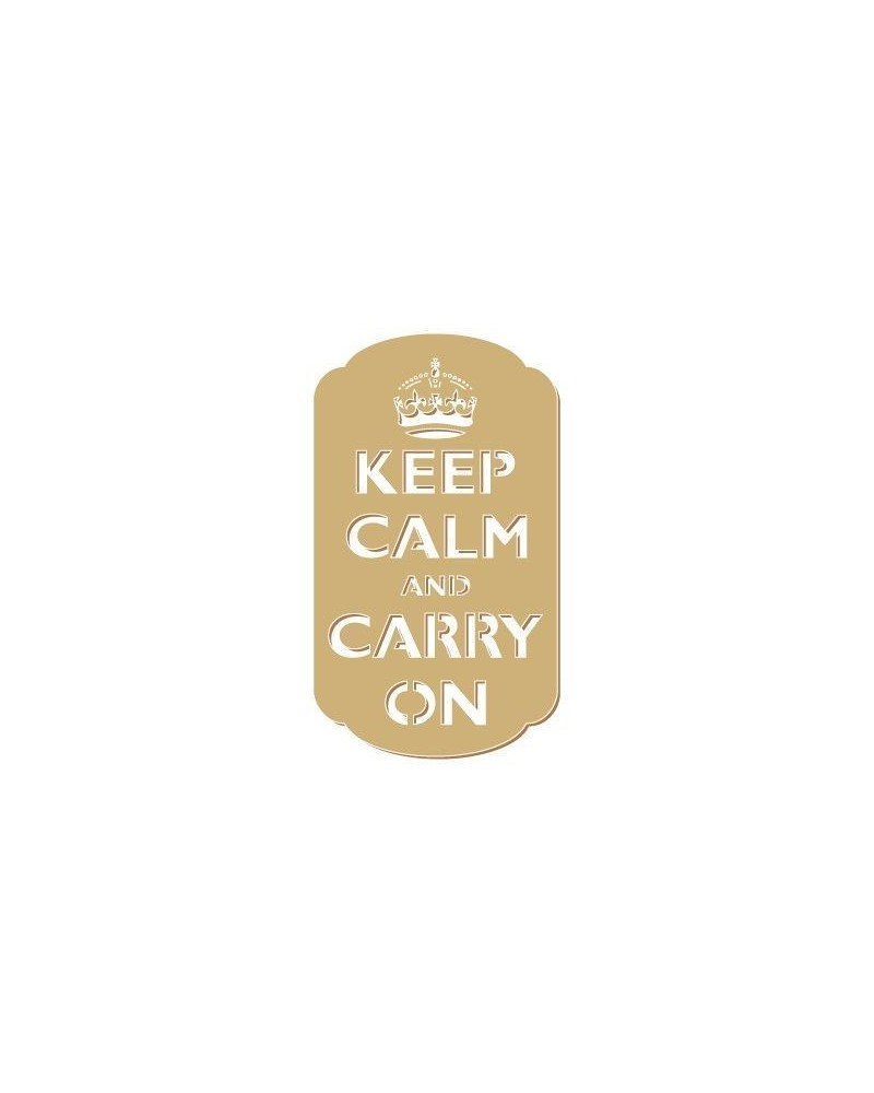 Silhouette Figur 075 Keep Calm