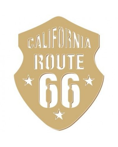 Wood Shape 081 Route 66