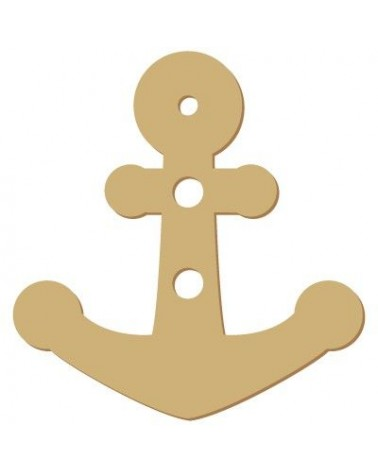 Wood Shape Button 002 Anchor