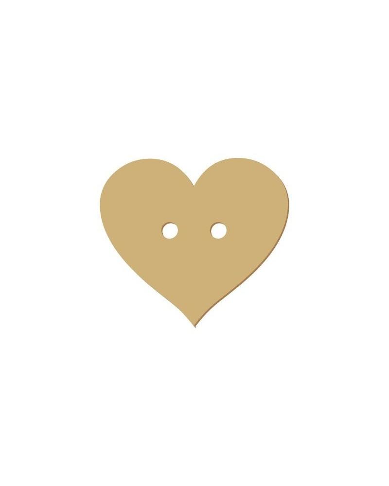 Silhouette Button 011 Heart