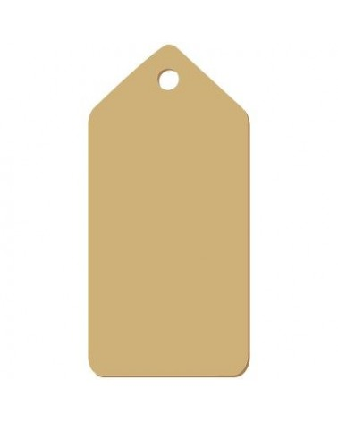 Wood Tag 004 Sharp-Edged