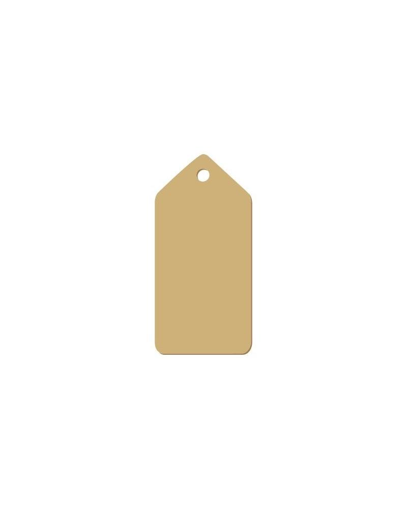 Wood Tag 004 Sharp-Edged