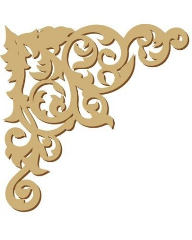 Wood Shape Damask 015