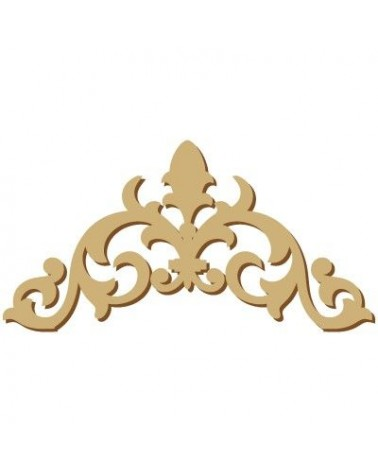 Wood Shape Damask 017