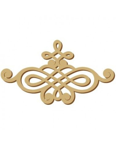 Wood Shape Damask 019