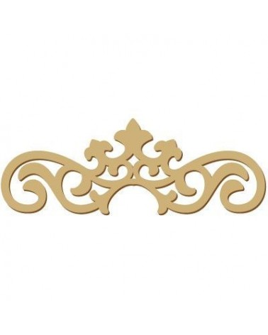 Wood Shape Damask 020