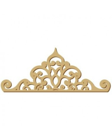 Wood Shape Damask 022