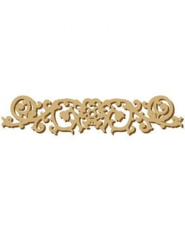Wood Shape Damask 025