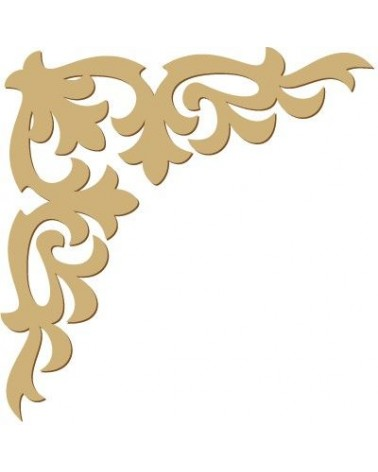 Wood Shape Damask 026