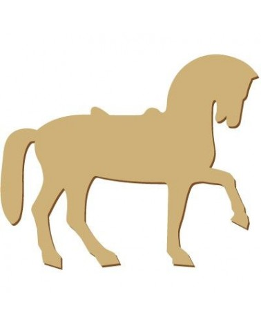 Wood Shape 103 Horse