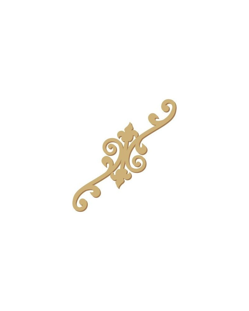 Wood Shape Damask 027