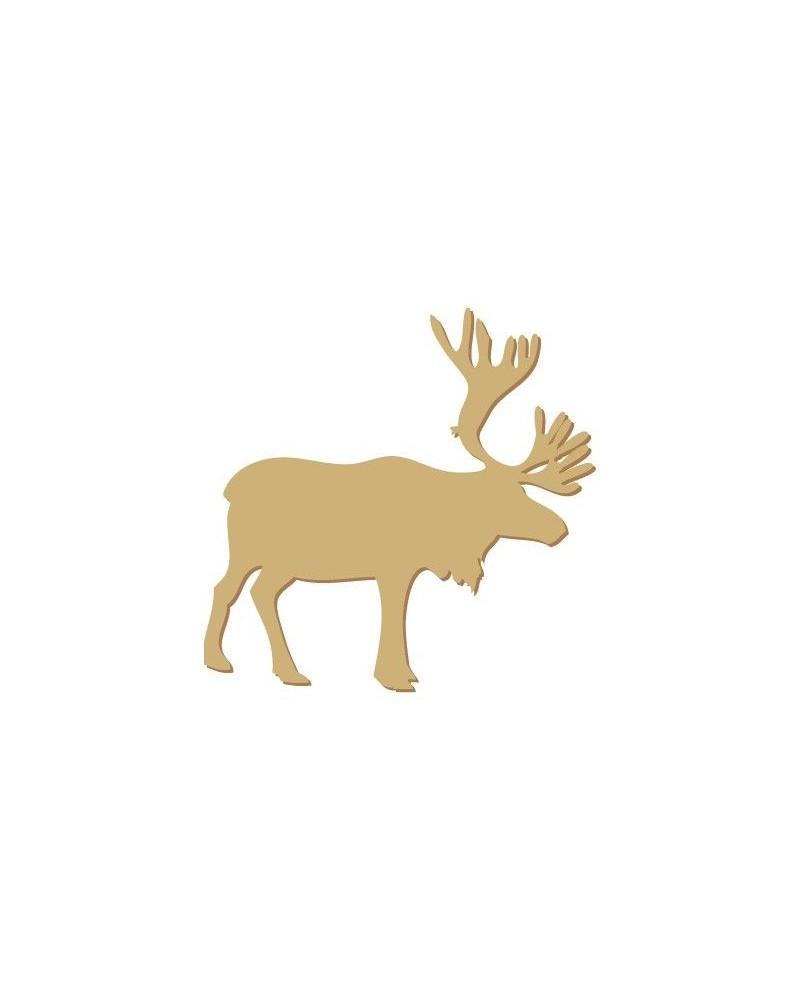 Wood Shape Festivities 003 Male Deer