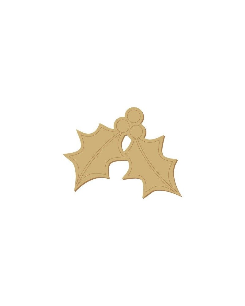 Wood Shape Festivities 012 Mistletoe