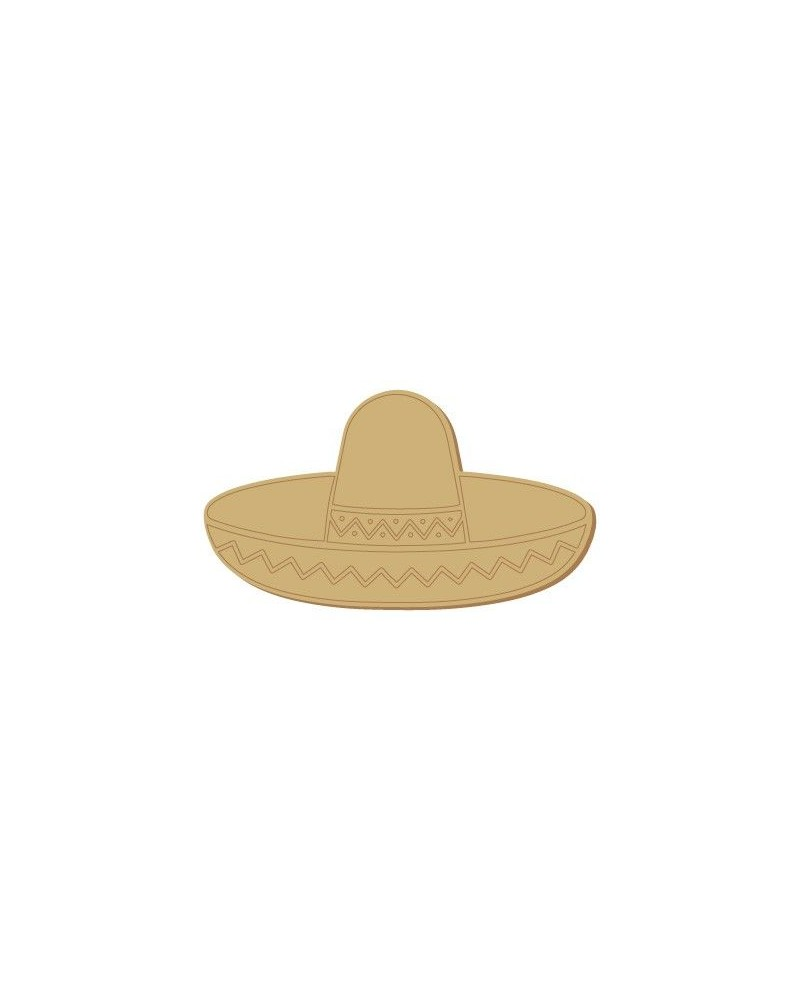 Wood Shape 109 Mexican Hat