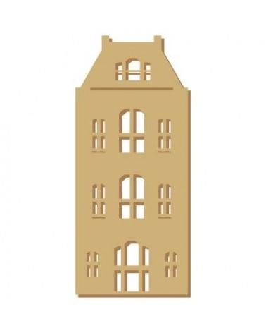 Silueta Figura 112 Casa Holandesa 1