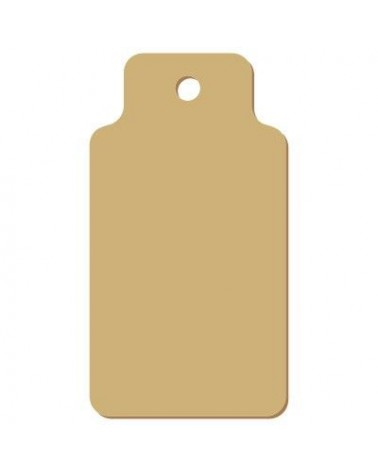 Wood Tag 010 Rectangular Bottle