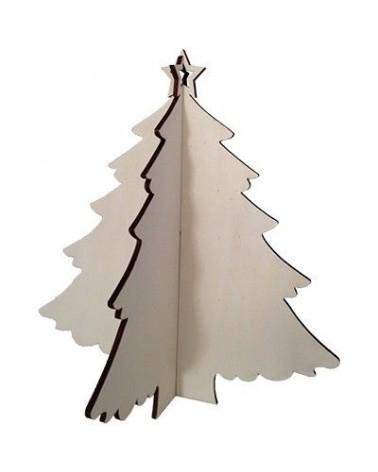 Soporte Madera 033 Arbol Navidad