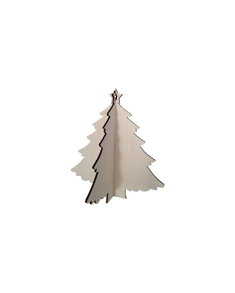 Wood Board 033 Christmas Tree