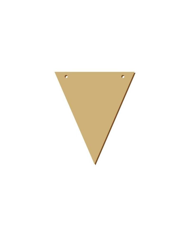 Wood Board 043 15 Triangular Pennant