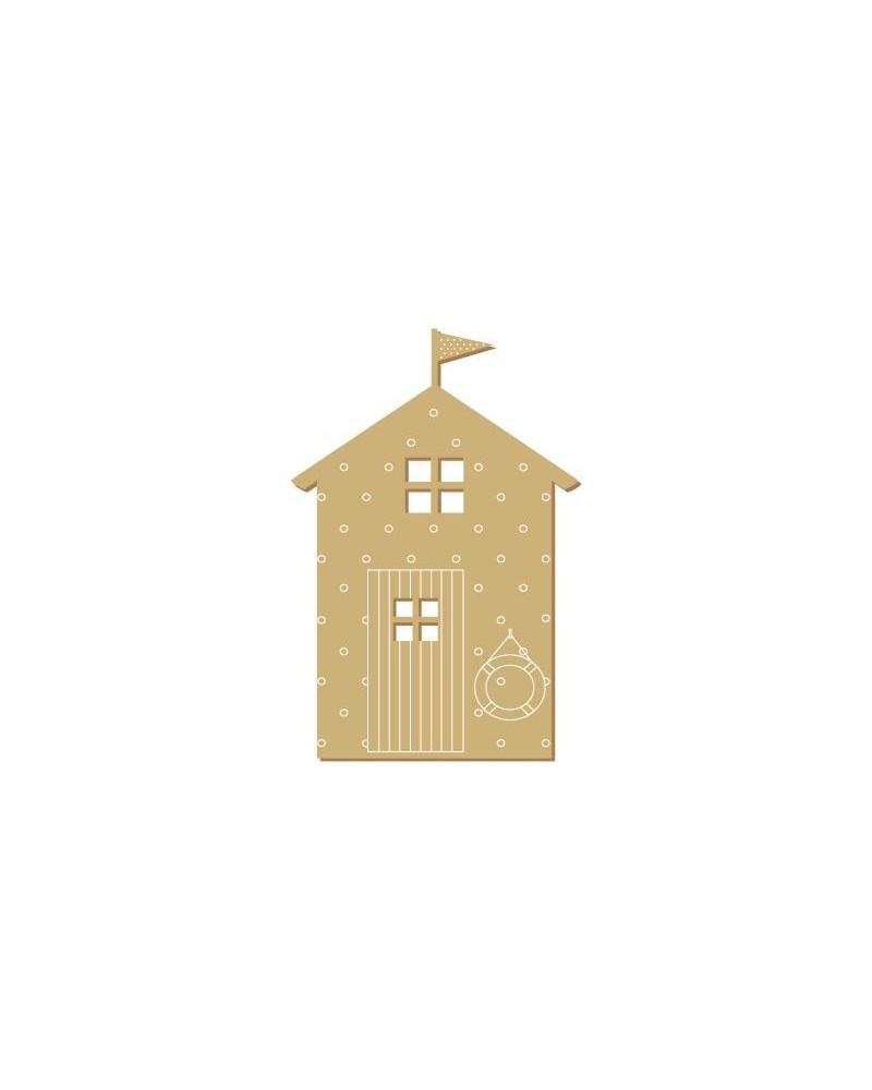 Silueta Figura 124 Casa Playa