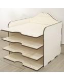 <h1>3d Wood 005 Scrap Paper Box</h1><p><ul><li>(S) 32,5 x 32 x 26 cm</li></ul></p>