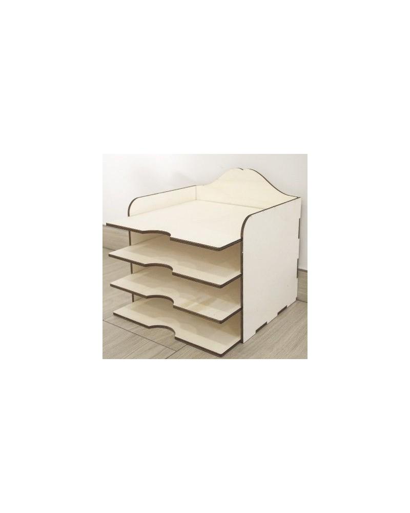 Soporte 3D 005 Caja Scrap Lisa