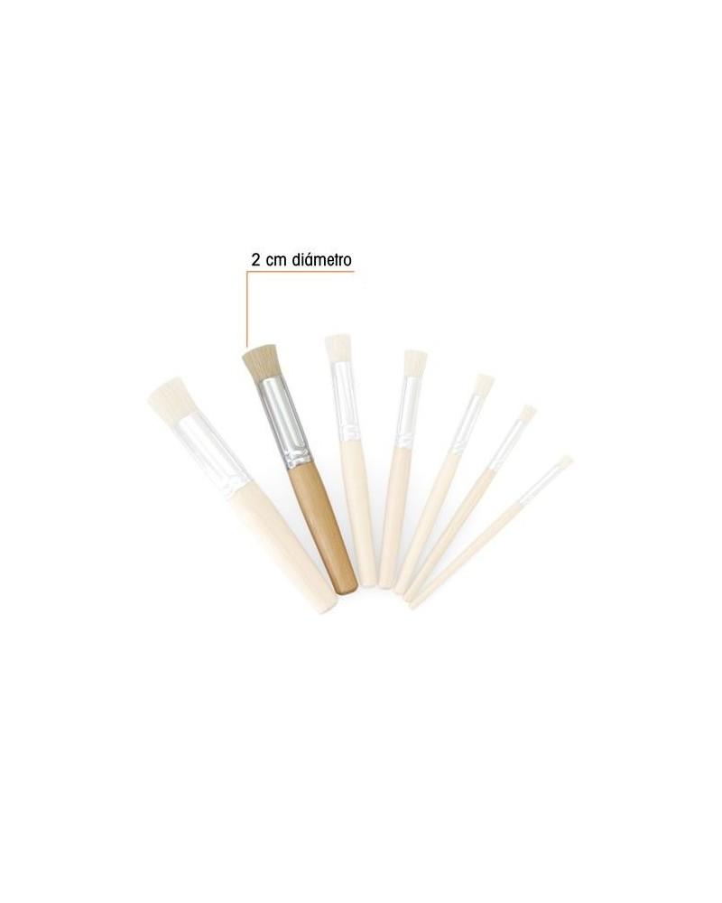 Eco Stencil Brush Nr6