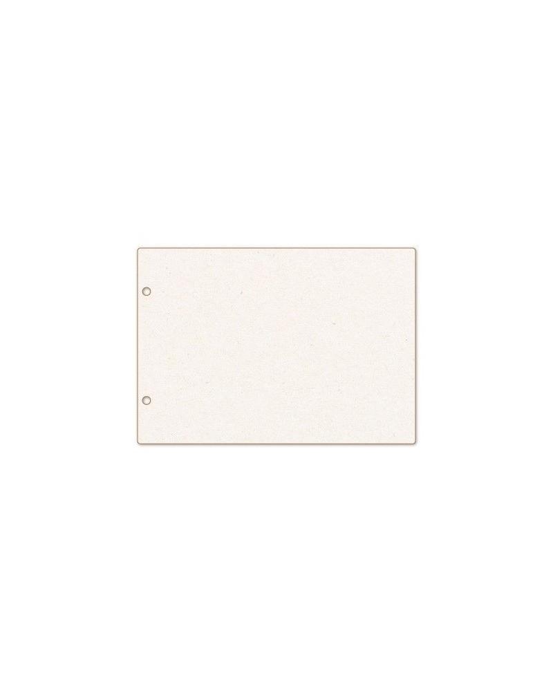 Álbum 001 Madera/Cartón A6 con Anillas y 10 Hojas