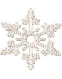 <h1>Wood Shape Festivities 029 Snowflake</h1><p><ul><li>(S) 6 x 6 cm</li><li>(M) 9 x 9 cm</li><li>(L) 12 x 12 cm</li><li>(XL) 15 x 15 cm</li><li>(XXL) 18 x 18 cm</li></ul></p>