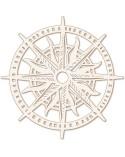 Silueta Figura 151 Rosa de los Vientos