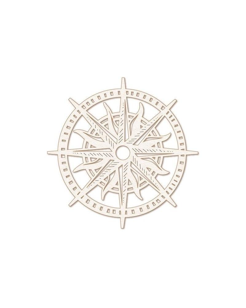 Wood Shape 151 Compass Rose