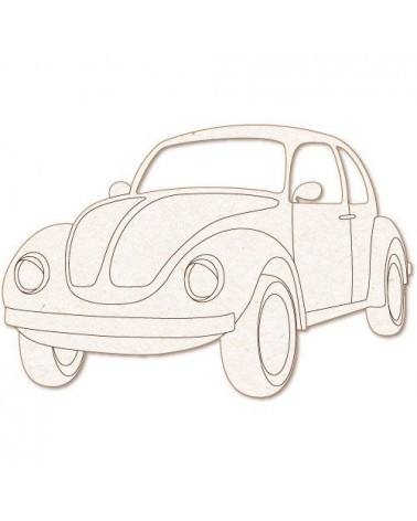 Wood Shape 163 VW Beetle