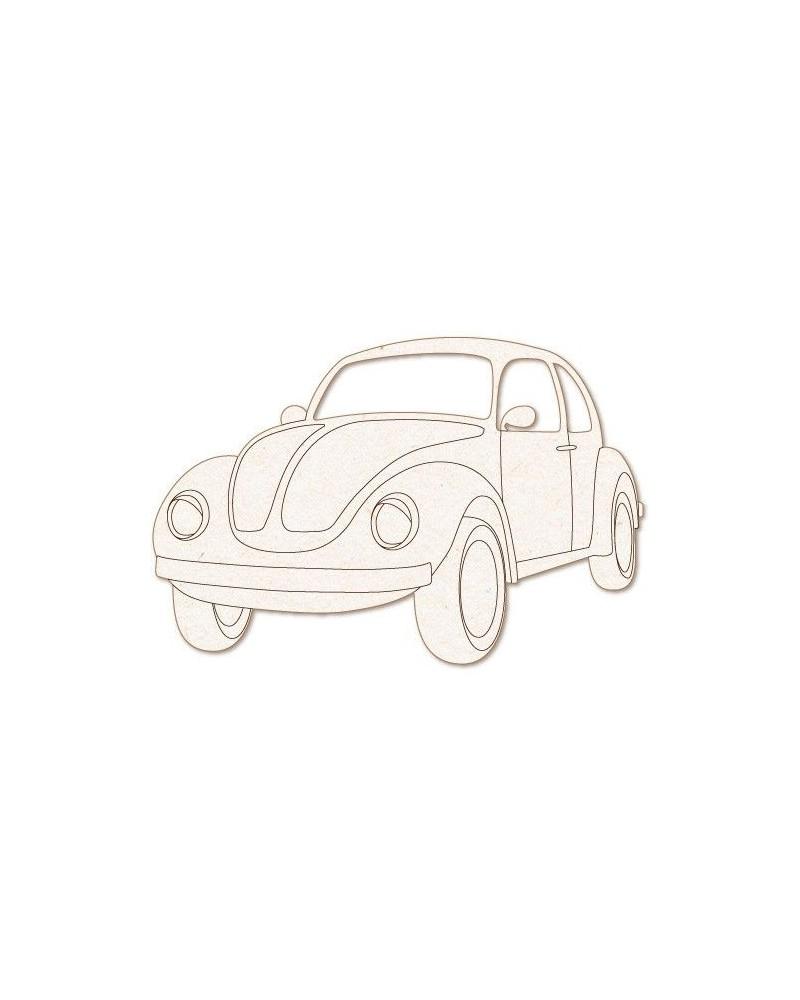 Silueta Figura 163 VW Escarabajo