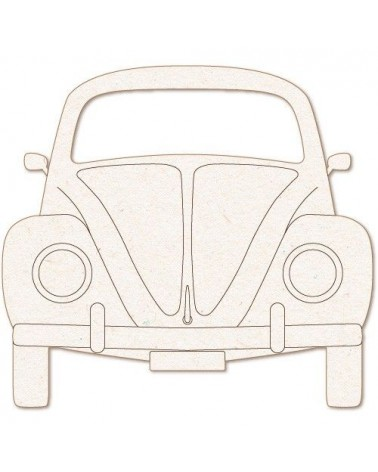 Wood Shape 164 VW Beetle