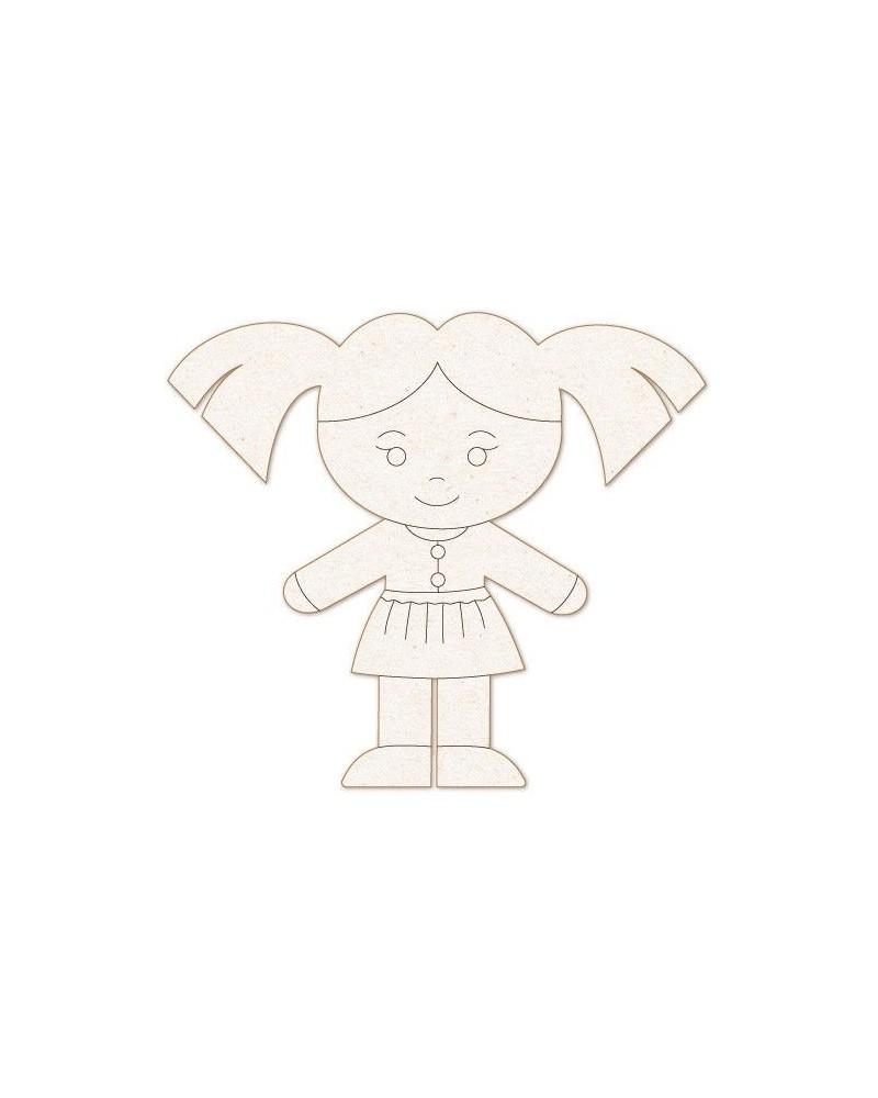 Silueta Figura 165 Nena