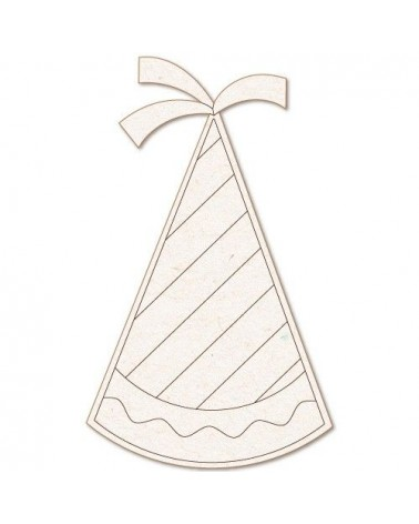 Wood Shape 169 Party Hat