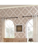 <h2>Allover Wall Stencil Damask 001</h2> <p>Large size stencils for decorating walls, ceilings, floors, furniture, curtains, pillows, carpets</p> <ul> <li>Small:  <ul> <li>stencil 44x44cm, 17.3x17.3in, </li> <li>design 42x42cm, 16.5x16.5in, </li> </ul> </li> <li>Medium:  <ul> <li>stencil 44x85cm, 17.3x33.5in, </li> <li>design 42x83cm, 16.5x32.7in, </li> </ul> </li> <li>Large:  <ul> <li>stencil 85x85cm, 33.5x33.5in, </li> <li>design 83x83cm, 32.7x32.7in, </li> </ul> </li> </ul> <p>Damask: 36x36cm, 14.2x14.2in</p>