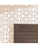 <h2>Allover Wall Stencil Damask 006 Palmira</h2> <p>Large size stencils for decorating walls, ceilings, floors, furniture, curtains, pillows,</p> <ul> <li>Small:  <ul> <li>stencil 44x44cm, 17.3x17.3in, </li> <li>design 42x42cm, 16.5x16.5in, </li> </ul> </li> <li>Medium:  <ul> <li>stencil 44x84cm, 17.3x33.0in, </li> <li>design 42x82cm, 16.5x32.3in, </li> </ul> </li> <li>Large:  <ul> <li>stencil 84x84cm, 33.0x33.0in, </li> <li>design 82x82cm, 32.3x32.3in, </li> </ul> </li> </ul> <p>Damask: 42x42cm, 16.5x16.5in</p>
