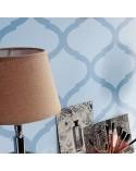 <h2>Stencil Home DecorAdamascado 019</h2> <p>Plantillas de gran formato para la decoración de habitaciones, paredes, techos, muebles, cortinas, alfombras, cojines</p> <ul> <li>Tamaño pequeño: <ul> <li>stencil 50x50cm,</li> <li>diseño 48x48cm,</li> <li>figura 21x20cm,</li> </ul> </li> <li>Tamaño mediano: <ul> <li>stencil 50x70cm,</li> <li>diseño 48x68cm,</li> <li>figura 21x18cm</li> </ul> </li> <li>Tamaño grande:</li> <ul> <li>stencil: 60x84cm,</li> <li>diseño: 58x82cm,</li> <li>figura 25x21cm</li> </ul> </ul>