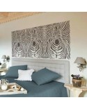 <p>Plantillas de gran formato para la decoración de habitaciones, paredes, techos, muebles, cortinas, alfombras, cojines, etc</p> <ul> <li>(S) 50 x 50cm - Diseño 48 x 48cm</li> <li>(M) 50 x 70cm - Diseño 48 x 68cm</li> <li>(L) 64 x 90cm - Diseño 62 x 88cm</li> </ul>