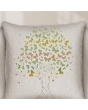 Wall Stencil Tree 001 Mariposas