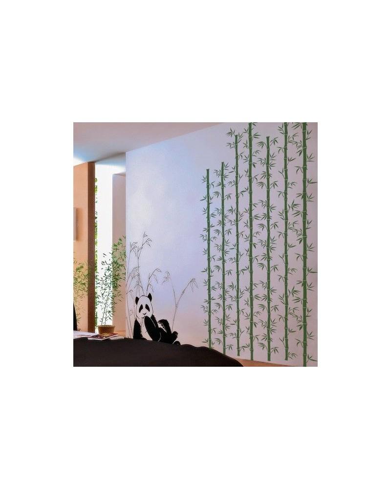 Wall Stencil Tree 008 Bambu